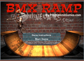 Jouez  Bmx rampe