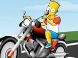 Bart en moto fun