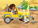 Diego et sa jeep