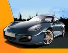 Porsche en ville