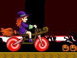 Halloween moto
